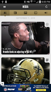 New Orleans Saints Mobile- screenshot thumbnail