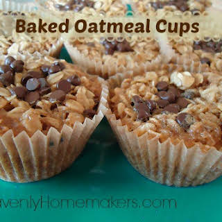 Baked Oatmeal Cups (Bird's Nests).