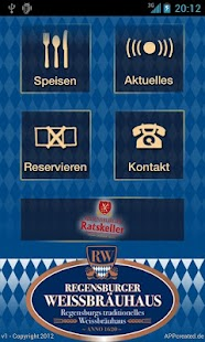 Regensburger Weissbräuhaus- screenshot thumbnail