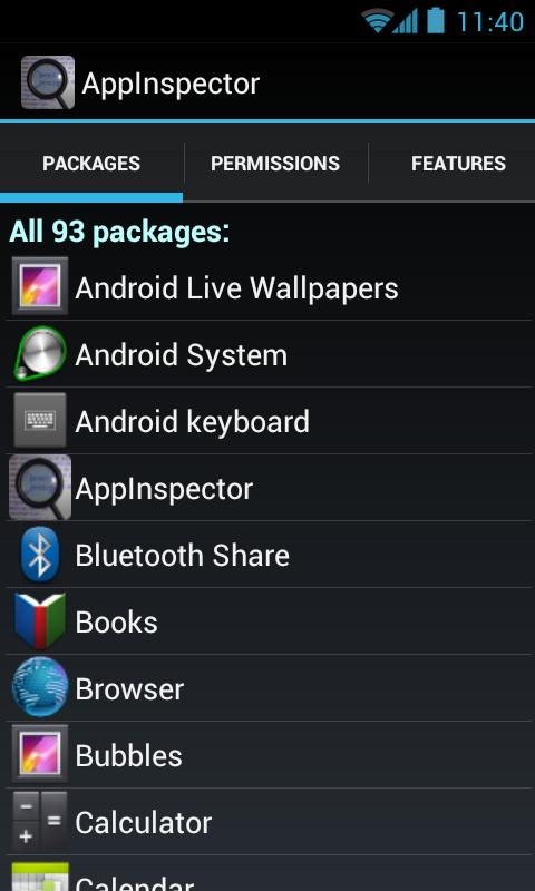 AppInspector- screenshot