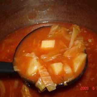Cabbage Borsht