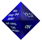 3D beautiful decision maker icon