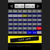 CopApp ! Calendar Schedule