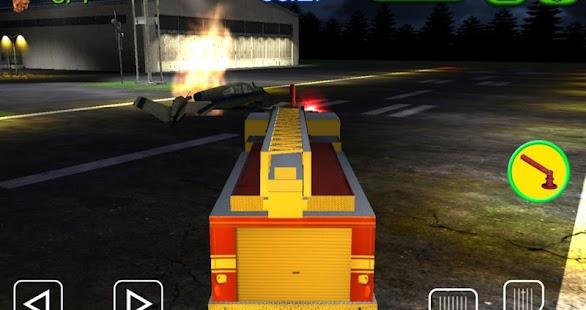 驅動3D - 機場消防車