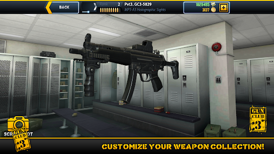 Gun Club 3: Virtual Weapon Sim: miniatura da captura de tela