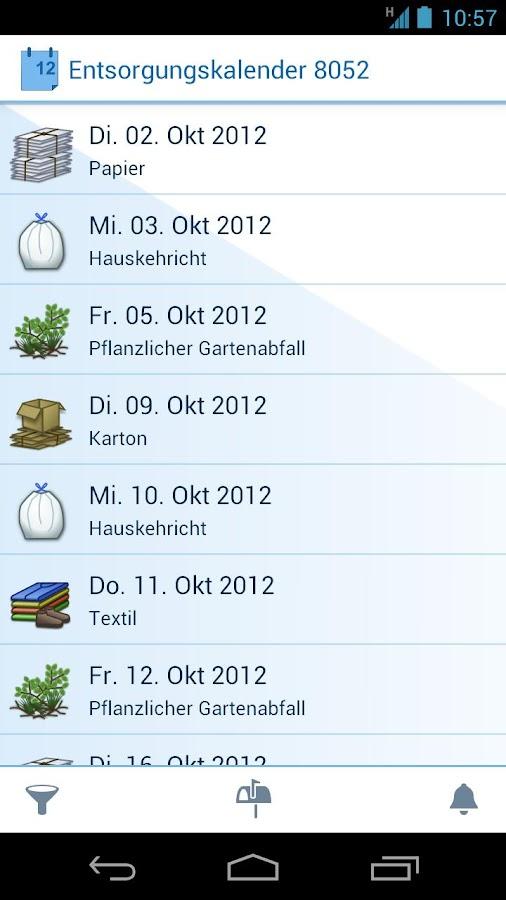 Entsorgung Zürich- screenshot