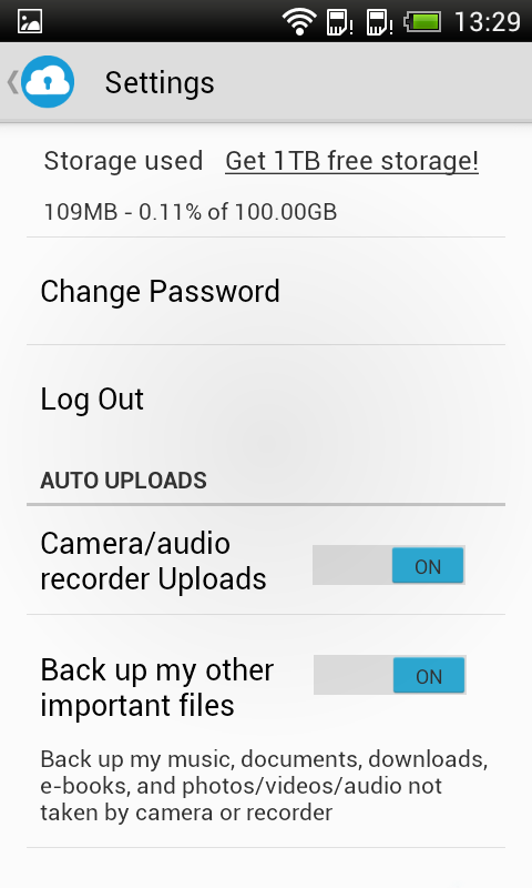 SurDoc – 100GB+ FREE storage - screenshot