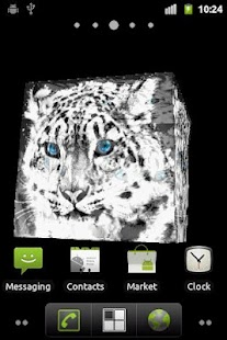 Snow Leopard Live Wallpaper - screenshot thumbnail