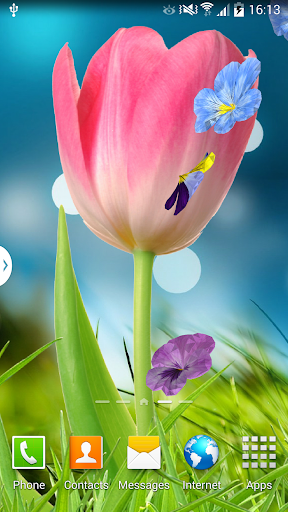 3D Flowers Live Wallpaper Lite