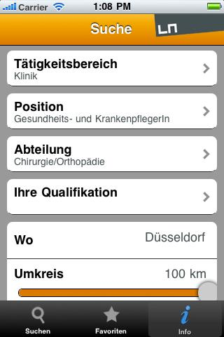 Pflege+Karriere - screenshot
