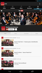 ErieChamberOrchestra - screenshot thumbnail