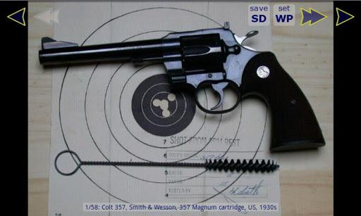 槍壁紙2(左輪手槍)