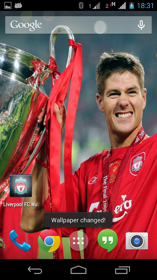 Liverpool FC Wallpaper - screenshot