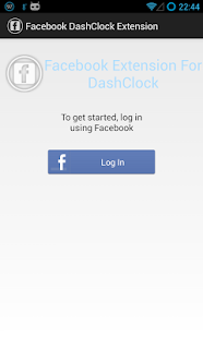 DashClock Facebook Extension - screenshot thumbnail