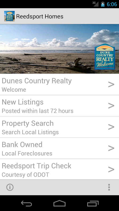 Reedsport Homes- screenshot