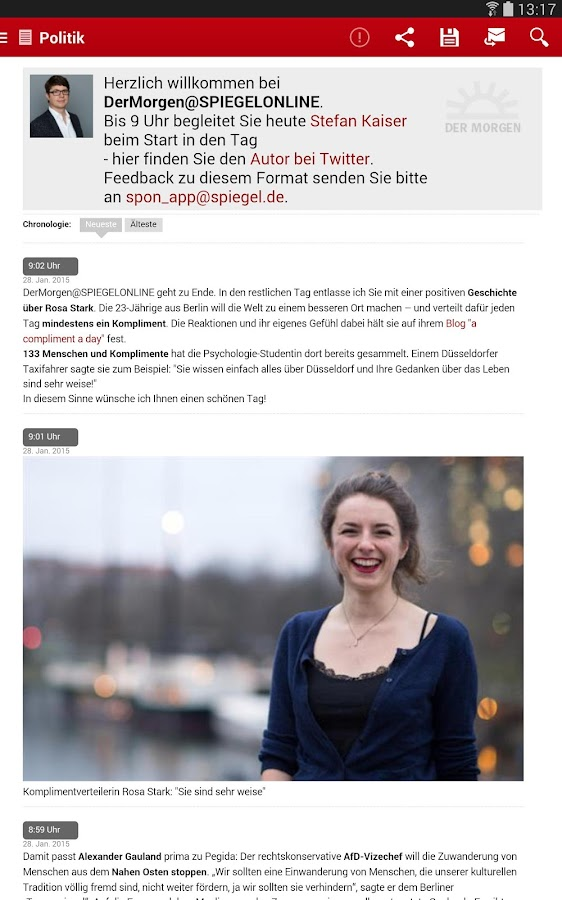 SPIEGEL ONLINE - News - screenshot
