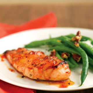 Spicy Apricot-Glazed Chicken