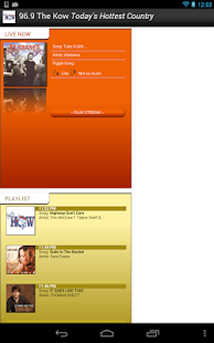 KKOW-FM Streaming Media Player - screenshot thumbnail