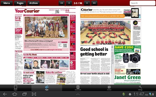 The Halifax Courier - screenshot thumbnail