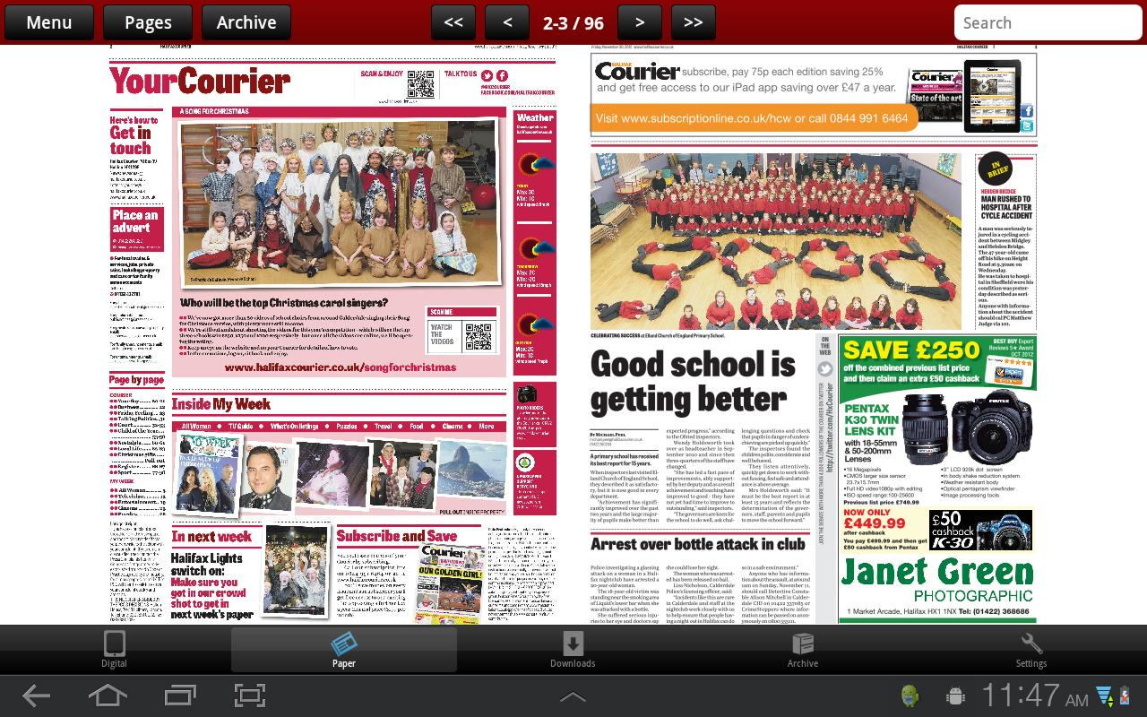 The Halifax Courier - screenshot