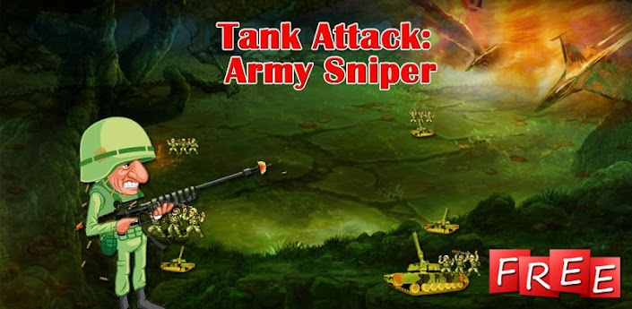 Tank Attack :Army Sniper Game 1.4 apk