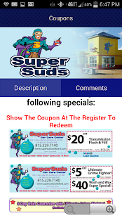 SuperSuds Car Wash- screenshot thumbnail