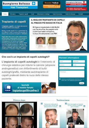 Trapianto Capelli - La tua app