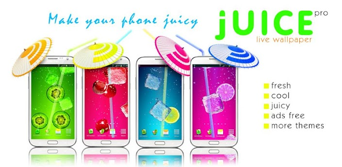 Juice PRO live wallpaper