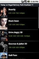 Screenshot of ShowTimes - Pro