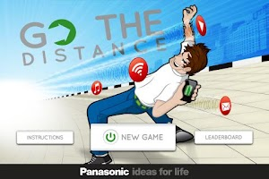 Screenshot of Go The Distance by Panasonic