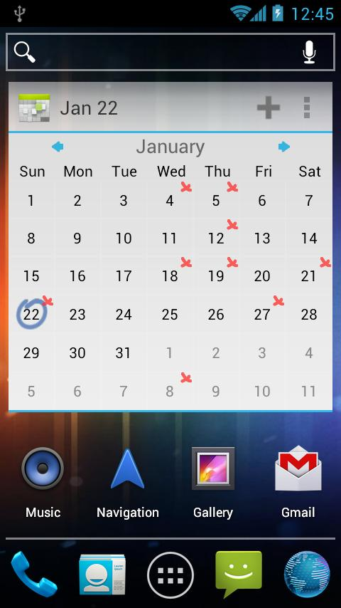 APW Theme Modern ICS- screenshot