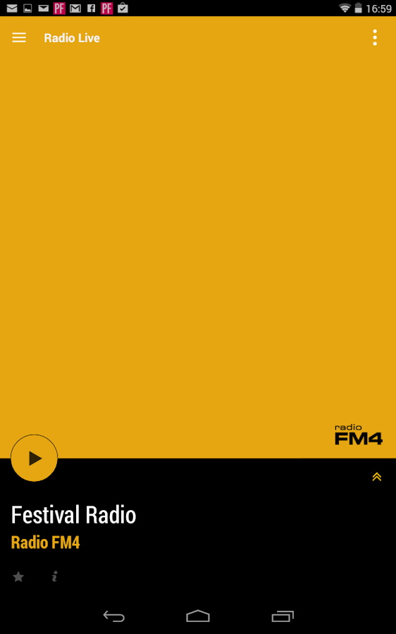 Radio FM4 - screenshot
