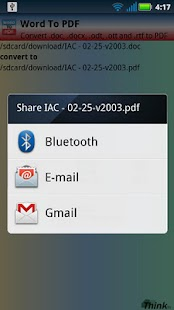 Word To PDF (doc, docx) - screenshot thumbnail