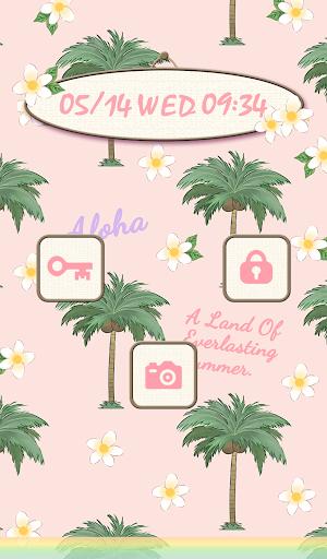 玩免費個人化APP|下載可愛換裝桌布★Hawaiian aloha app不用錢|硬是要APP
