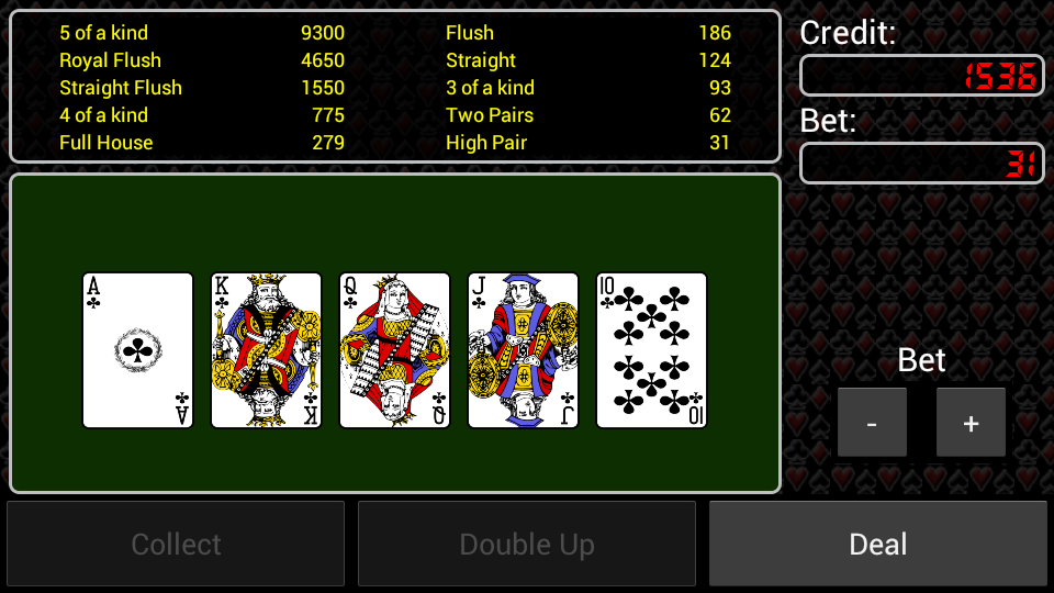 Video Poker Free - screenshot
