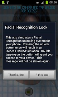 Facial Recognition Lock - screenshot thumbnail