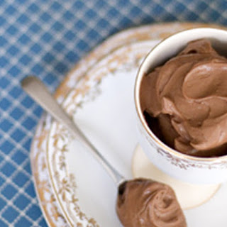 Amaretto-spiked Chocolate Mousse.
