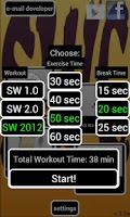Screenshot of Spartacus Workout Collection