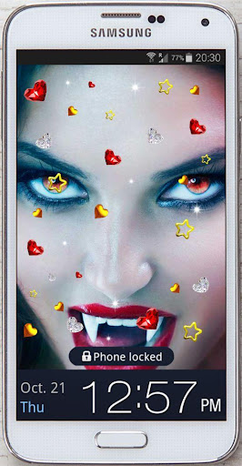Vampires Kiss live wallpaper