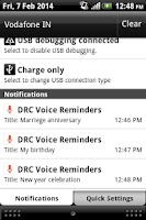Screenshot of Auto Voice Reminder