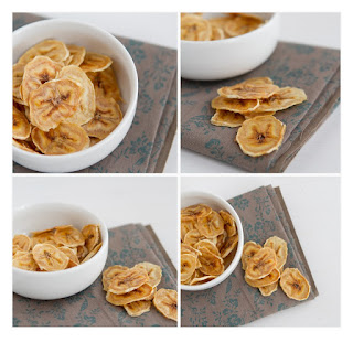 Baked Banana Chips.