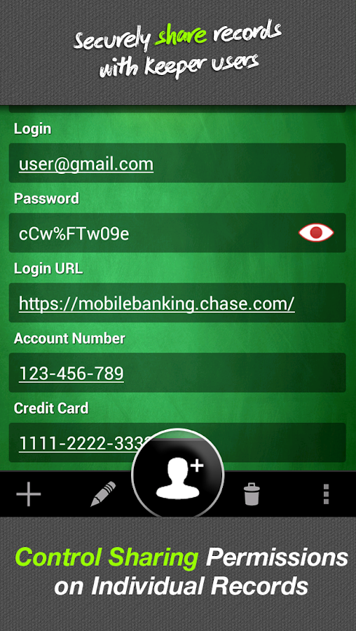 Keeper® Password & Data Vault - screenshot