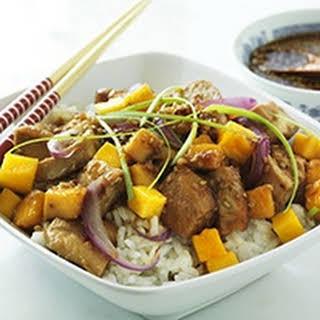 Island Teriyaki Mango Chicken.