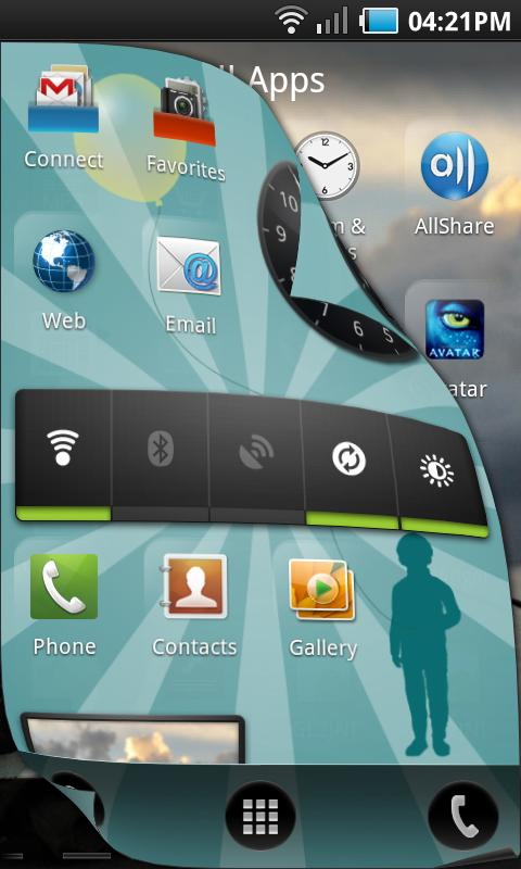 Pure Breeze Launcher Lite - screenshot