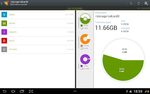 Disk & Storage Analyzer - screenshot thumbnail