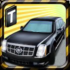 Limousine Parking 3D icon