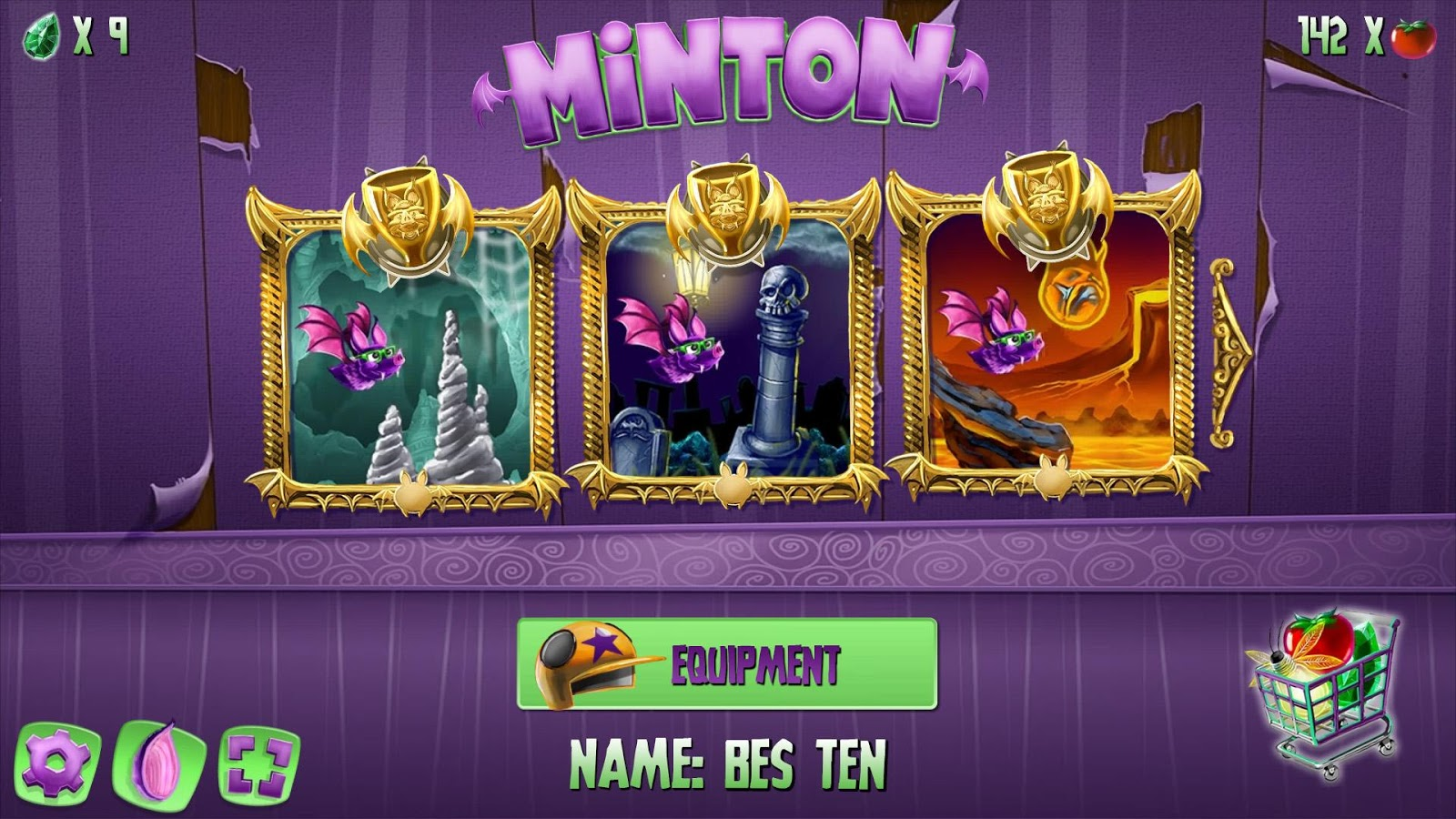 Minton- screenshot