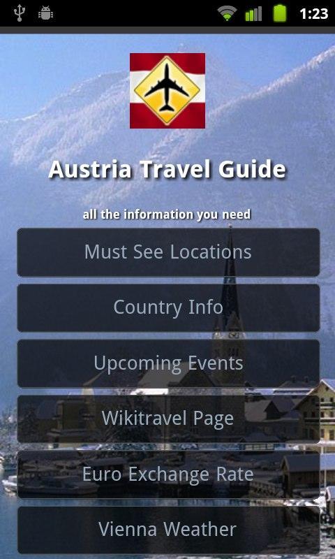 Austria Travel Guide- screenshot