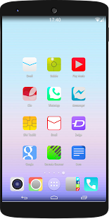 ios8 Quantum icon pack theme - screenshot thumbnail