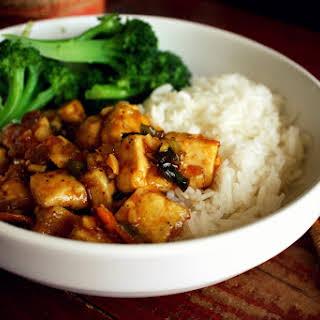 Spicy Ginger-Orange Tofu.